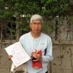 55歳シングルス 準優勝