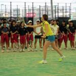 新井麻葵プロテニスクリニック(午前)③
