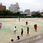 世代間交流テニス②
