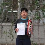 45歳以上男子シングルス優勝