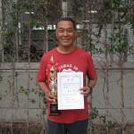 55歳以上男子シングルス優勝