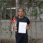 65歳以上男子シングルス優勝