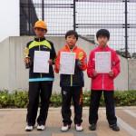 小学6年生男子(1位、2位、3位)