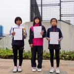 小学5,6年生女子(1位、2位、3位)