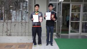 一般男子B級シングルス3位