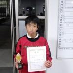 中学1年生男子 第2位