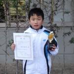 小学6年生男子 第2位
