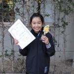 小学5年生女子 第2位