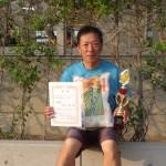 55歳以上男子シングルス準優勝