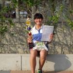 一般女子シングルス優勝